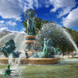 Foto Stock: Fountain.