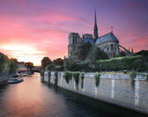 River Seine. — Stockfoto