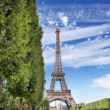 The Eiffel tower. — Stock Photo