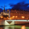 Pont Saint-Louis. - Stock Photo