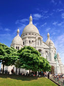 Basilica Sacre Coeur. — Stock Photo