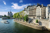 Quai d'Orleans. — Stock Photo