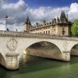 Stock Photo: Pont au Change.