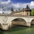 Pont au Change. — Stockfoto