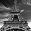 Stock Photo: Eiffel Tower.