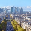 Stock Photo: Panoramof Paris
