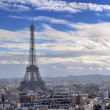 Panorama of Paris. — Stock Photo
