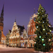Christmas in Riga. — Stock Photo