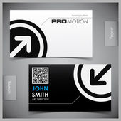 Set of creative business cards — Vector de stock
