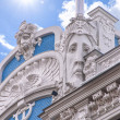 Riga Art Nouveau District 01 — Stock Photo