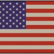Patch Flag USA — Stock Photo