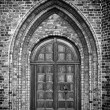 Church Door Monochromatic — Stock Photo #18609859