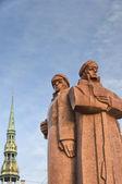 Riga rot gewehrschützen 07 — Stockfoto