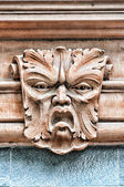 Gargoyle Head Helsingborg — Stock Photo