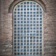 Barred Mosque Window — Stock Photo