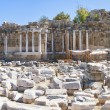 side nymphaeum fountain ruins 03 — Stock Photo