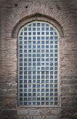Barred Mosque Window — Stock Photo