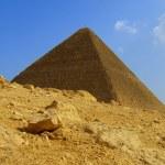 Piramida Giza 01 — Zdjęcie stockowe #2222841