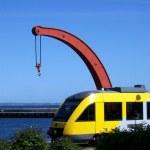 Helsingor train — Stock Photo #2302912