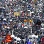Bicycle city — Stock Photo #2302954
