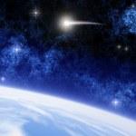 Comet Ison — Stock Photo
