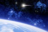 Ison cometa — Foto Stock