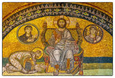 Hagia Sofia mosaic 04 — Stock Photo