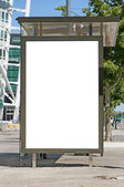 Bus stop at turning torso 05 — Stock Photo