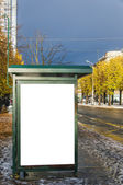 Bus Stop Riga — Stock Photo