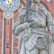 Riga Statue of Roland 01 — Stock Photo