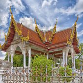 Phetchaburi Temple 22 — Stock Photo