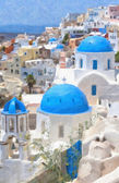 Santorini Oil Painting — Stock Photo