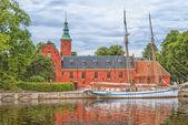 Halstad castello 03 — Foto Stock