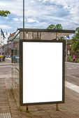 Halmstad Bus Stop — Stock Photo