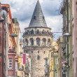 Stock Photo: Istanbul GalatTower