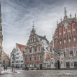 Riga The House of Blackheads — Stock Photo