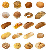 Bread and Bap selection — Stock Photo