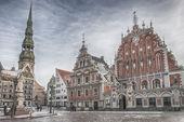 Riga The House of Blackheads — Stock Photo