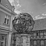 ティコ ・ ブラーエの記念碑 — ストック写真
