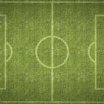 Football Soccer Pitch — ストック写真