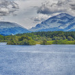 Stock Photo: Loch Awe Panorama
