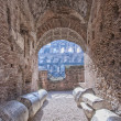 Rome Colosseum Interior 01 — Stock Photo