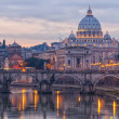 Stock Photo: Rome Saint Peters Basilica 01