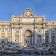 Stock Photo: Rome Trevi Fountain 01