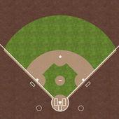 Baseball Field — Stock Photo