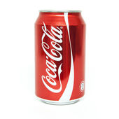Coke Cola 0,33l can — Stock Photo