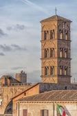 Rome Santa Francesca Romana — Stock Photo