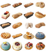 Bakery Mixed Assortment — Stock Photo