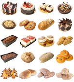 Bakery Mixed Products — Stock Photo