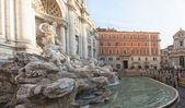 Roma trevi Çeşmesi 02 — Stok fotoğraf